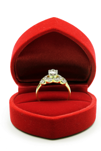 prenuptial agreement and wedding ring